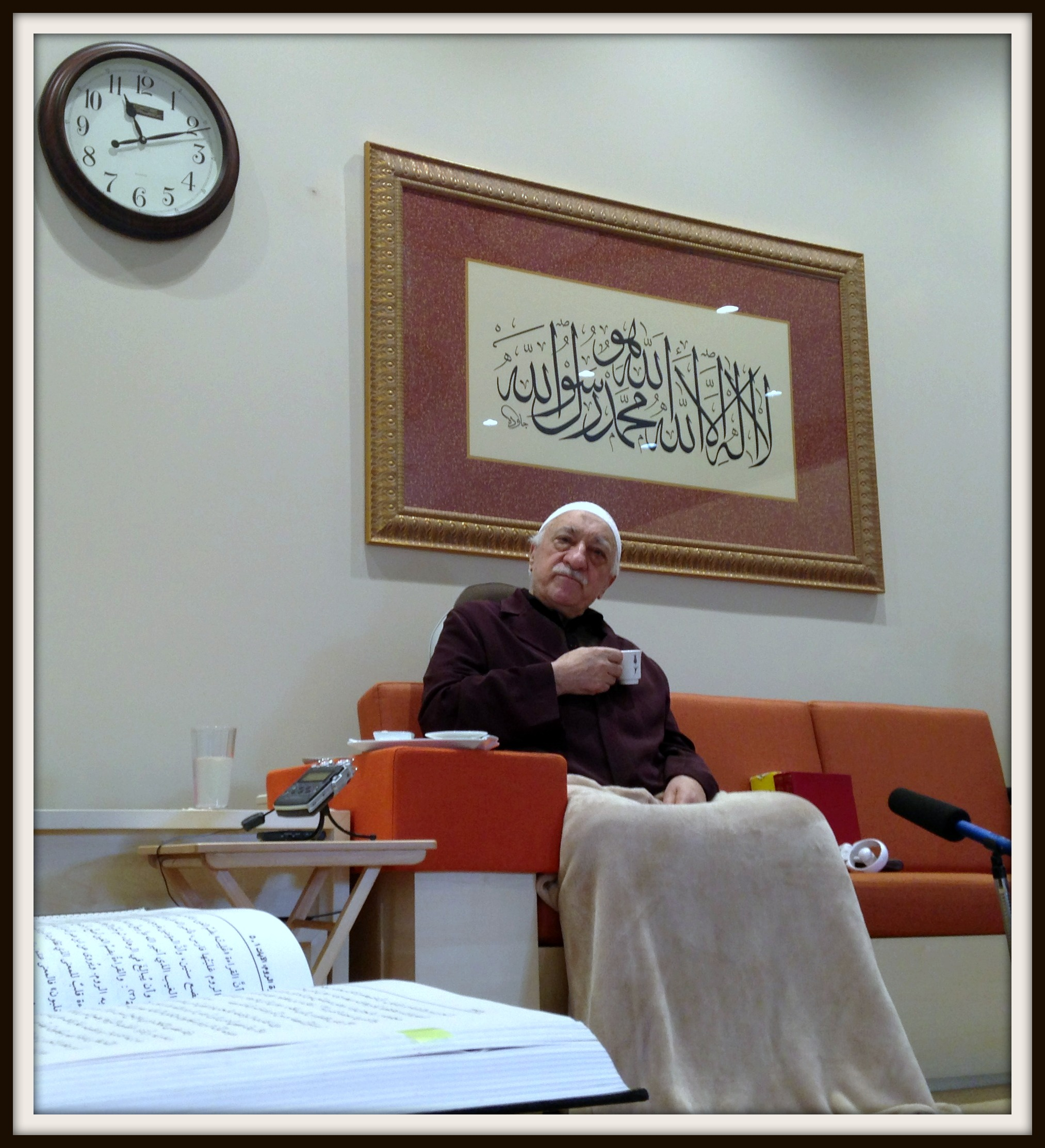 Muhterem Fethullah Gülen Hocaefendi Ders Esnasında